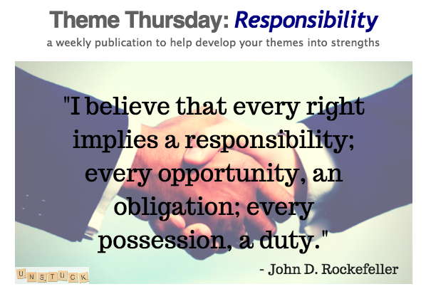 Responsibility Header
